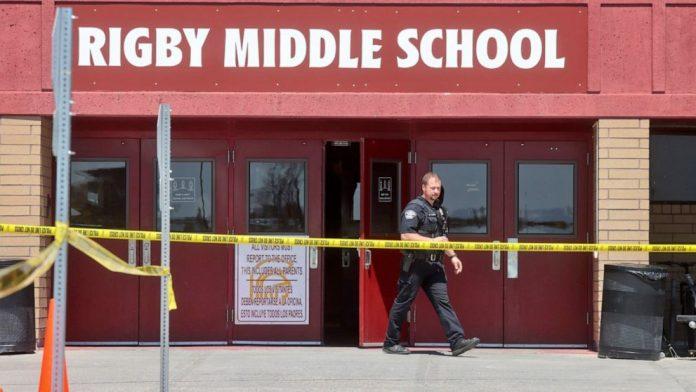 Escola localizada na pequena cidade de Rigby, ID (foto: ABC News)