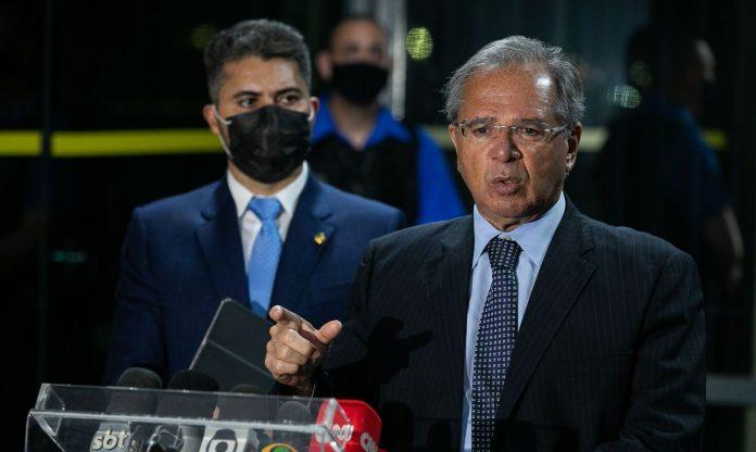 Ministro Paulo Guedes confirma prorrogação do auxílio emergencial (Foto: Ascom)