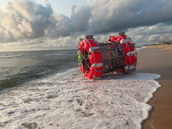 Em 2014, Baluchi já havia sido resgatado pela Guarda Costeira quando tentava chegar às Bermudas (foto: Twitter)