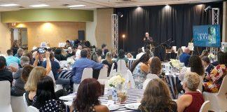 Jantar beneficente da Global Foundation, do pastor Silair Almeida (Foto: Marcos Orricco)