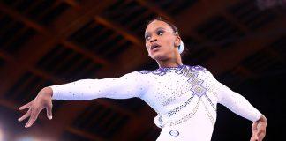 Rebeca Andrade se torna a primeira ginasta brasileira a ganhar uma medalha nos Jogos Olímpicos (Foto: REUTERS/Lindsey Wasson)