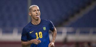 Richarlison é o artilheiro da competição, com cinco gols (Foto: Lucas Figueiredo/CBF)