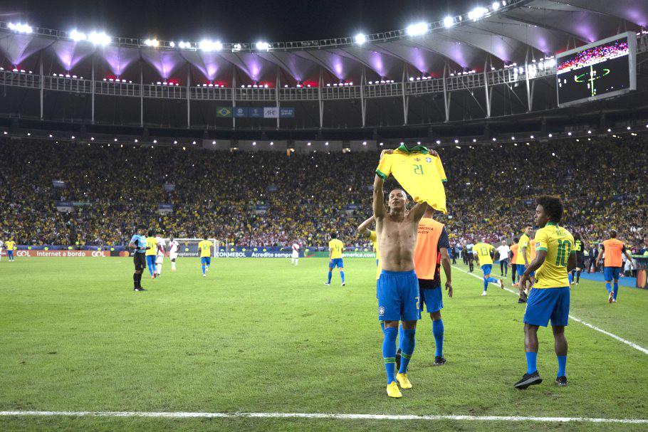 Com hat trick de Richarlison, Brasil bate a Alemanha por 4 a 2 na abertudo do futebol masculino em Tóquio (Foto: Lucas Figueiredo/CBF)