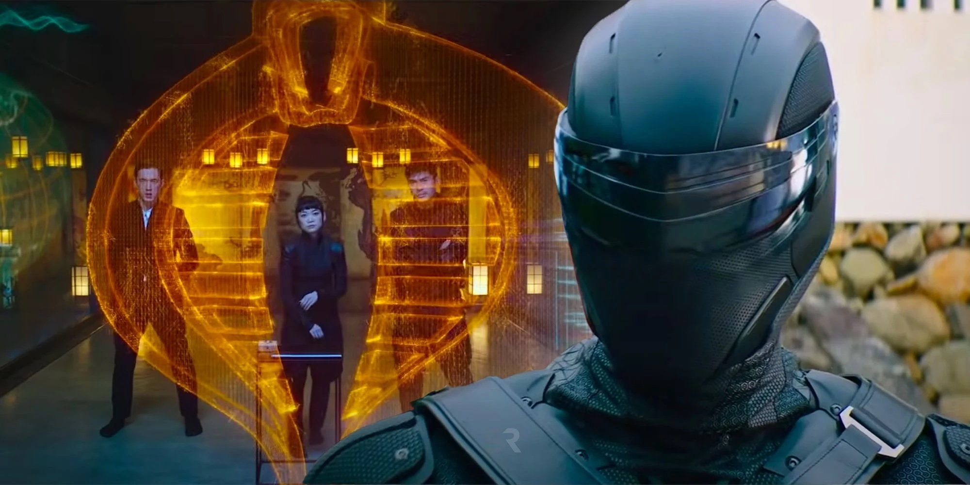 O silencioso, mas letal, guerreiro Snake Eyes está fazendo sua própria sequência do filme (Foto: Divulgação)