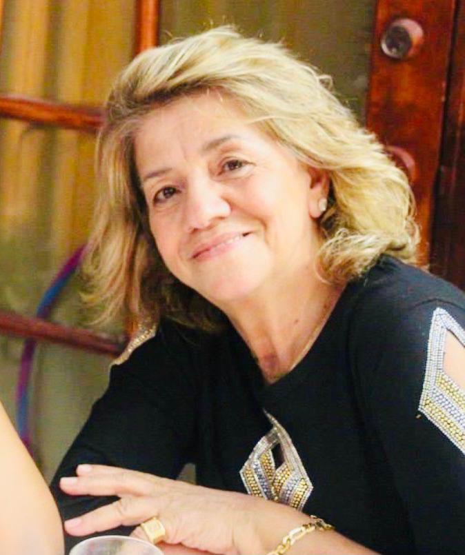 Teresa Gouveia, de 74 anos, morreu vítima de covid em Pompano Beach (Foto: Arquivo Pessoal)