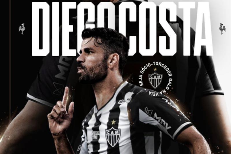 Diego Costa foi uma das principais contratações do Galo