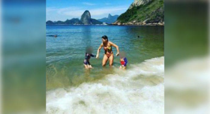 Karla luta para levar as filhas de volta ao Brasil (Foto: Reprodução TV Globo)