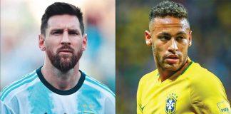 Lionel Messi (à esquerda) terá no Catar 2022 talvez sua última chance de vencer uma Copa do Mundo; Neymar Jr. quer provar ao mundo que é craque de verdade e não apenas um garoto mimado (Fotos: Wikipedia e Zimbio)