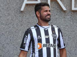 Diego Costa sofreu uma lesão muscular e poder ser desfalque do Galo no jogo contra o Palmeiras (Foto: Agência Brasil/EBC)