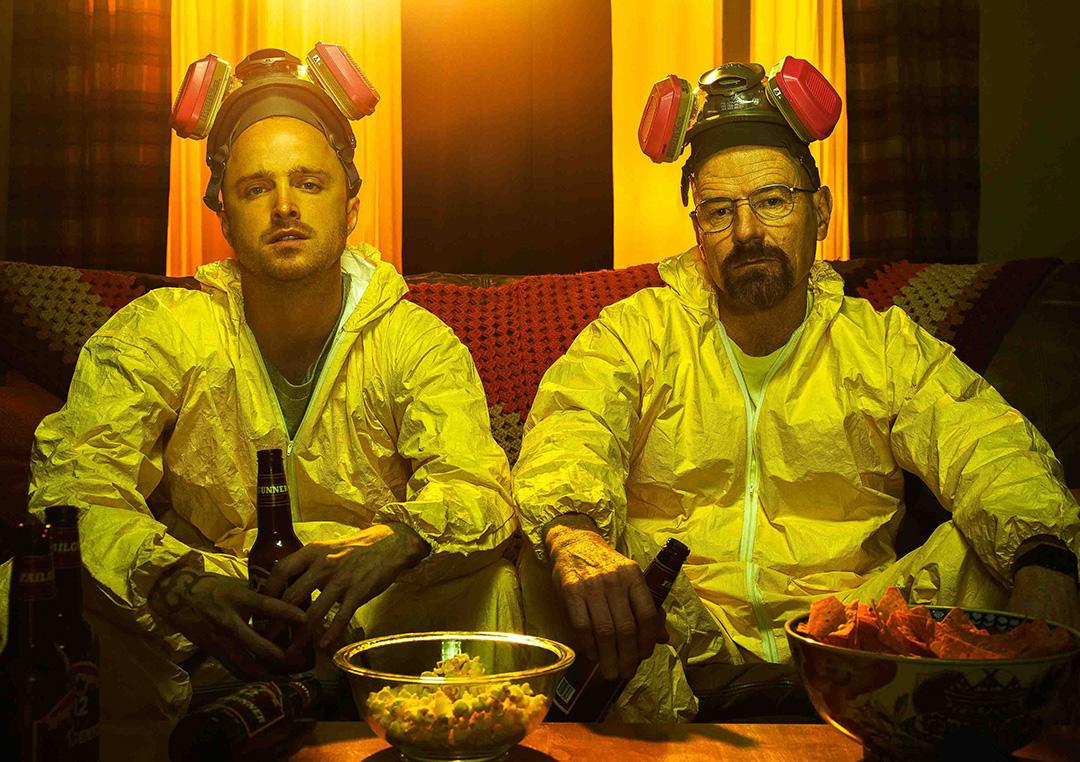 Cena de Breaking Bad (Foto: Frank Ockenfels/AMC)