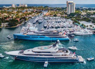 Fort Lauderdale International Boat Show (FLIBS) é a principal atração de Broward no final do mês de outubro (Foto: nordhavn.com)