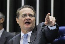 Renan Calheiros carrega na tinta contra Jair Bolsonaro na CPI da Covid (Foto: Congresso em Foco)